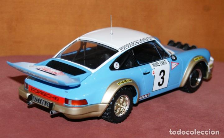 Coches a escala: PORSCHE 911 CARRERA RALLYE DE MONTECARLO 1978 J.P. NICOLAS ESCALA 1:18 DE ALTAYA EN su CAJA - Foto 4 - 194596013