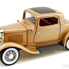 Coches a escala: FORD 3 WINDOW COUPÉ 1932 ESCALA 1/18 DE LUCKY DIE CAST. Lote 194705353