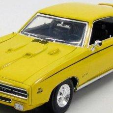 Coches a escala: PONTIAC GTO JUDGE 1969 ESCALA 1/18 DE MOTORMAX. Lote 194726755