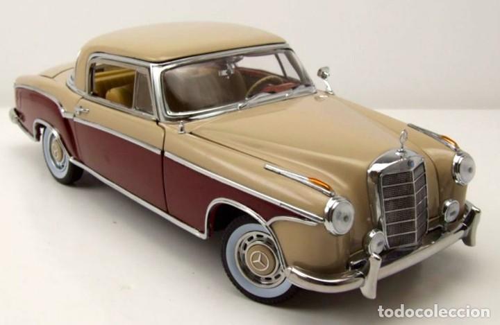 Coches a escala: Mercedes 220 SE Coupé 1959 escala 1/18 de Sun Star - Foto 3 - 194779690