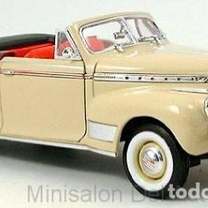 Coches a escala: CHEVROLET SPECIAL DE LUXE CONVERTIBLE ESCALA 1/18 DE WELLY. Lote 194866826