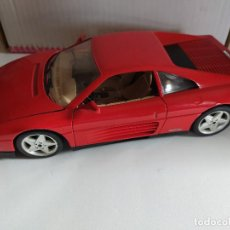 Coches a escala: BURAGO FERRARI 348 TB 1989 1/18 MADE IN ITALY . Lote 194988503