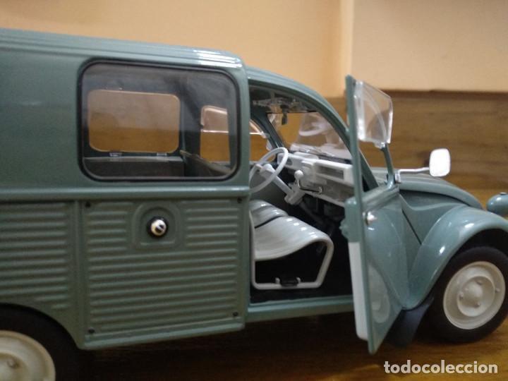 Coches a escala: citroen 2cv furgoneta 1 18 en blister - Foto 10 - 195238266
