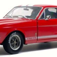 Coches a escala: FORD SHELBY MUSTANG GT500 1967 ESCALA 1/18 DE SOLIDO. Lote 195405046