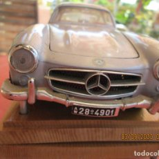 Coches a escala: MERCEDES 300 SL 1954 BURAGO - PLATEADO. Lote 196517681