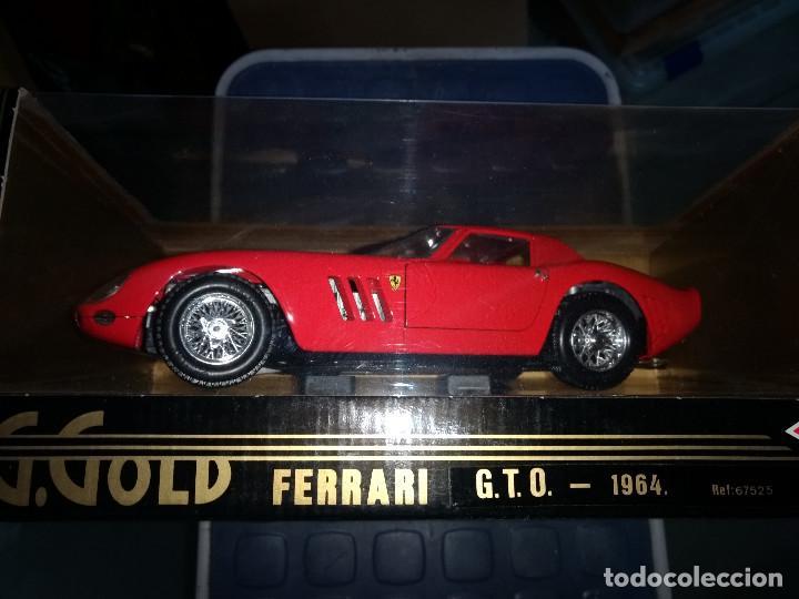 Coches a escala: FERRARI GTO -1964 ED. ESPEC. 1/18 DE GUILOY - Foto 2 - 201364840