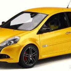 Coches a escala: RENAULT CLIO 3 RS PHASE II SPORT CUP 2010 ESCALA 1/18 DE OTTO MOBILE. Lote 201675942