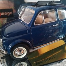 Carros em escala: FIAT 500 L 1968 BURAGO 1/18. Lote 202245892