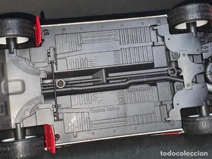 Coches a escala: Toyota celica CARLOS SAINZ LUIS MOYA 1/18 - Foto 6 - 204248563