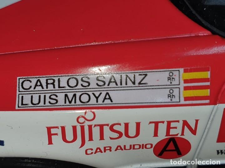 Coches a escala: Toyota celica CARLOS SAINZ LUIS MOYA 1/18 - Foto 5 - 204248563