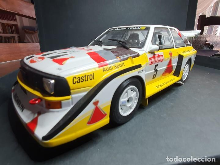 Coches a escala: Audi quattro 1/18 - Foto 2 - 204261483