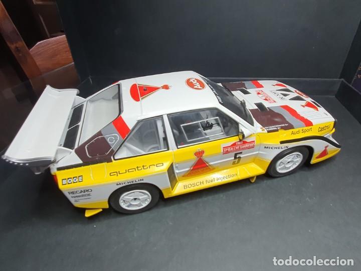 Coches a escala: Audi quattro 1/18 - Foto 3 - 204261483