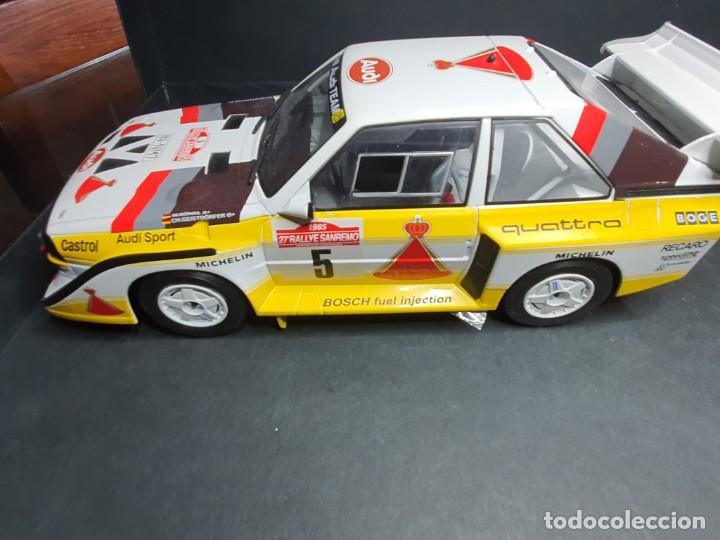 Coches a escala: Audi quattro 1/18 - Foto 8 - 204261483