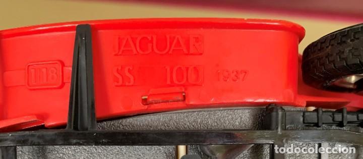 Coches a escala: JAGUAR SS 100 DE 1937 A ESCALA 1/18 DE LA MARCA BURAGO. - Foto 9 - 205751136