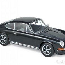 Coches a escala: PORSCHE 911 S 1973 (NEGRO) 1:18 NOREV. Lote 206328633