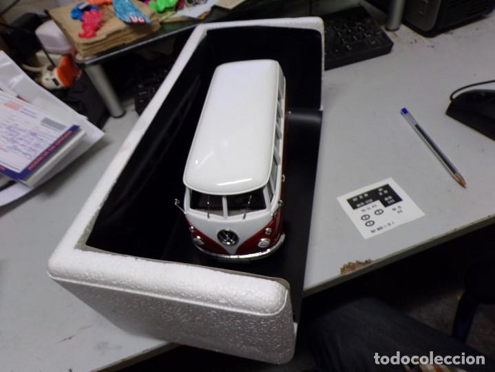 Coches a escala: preciosa furgo combi vitre 1966 v.w de solido francia en su caja , furgo perfecta - Foto 6 - 207459232