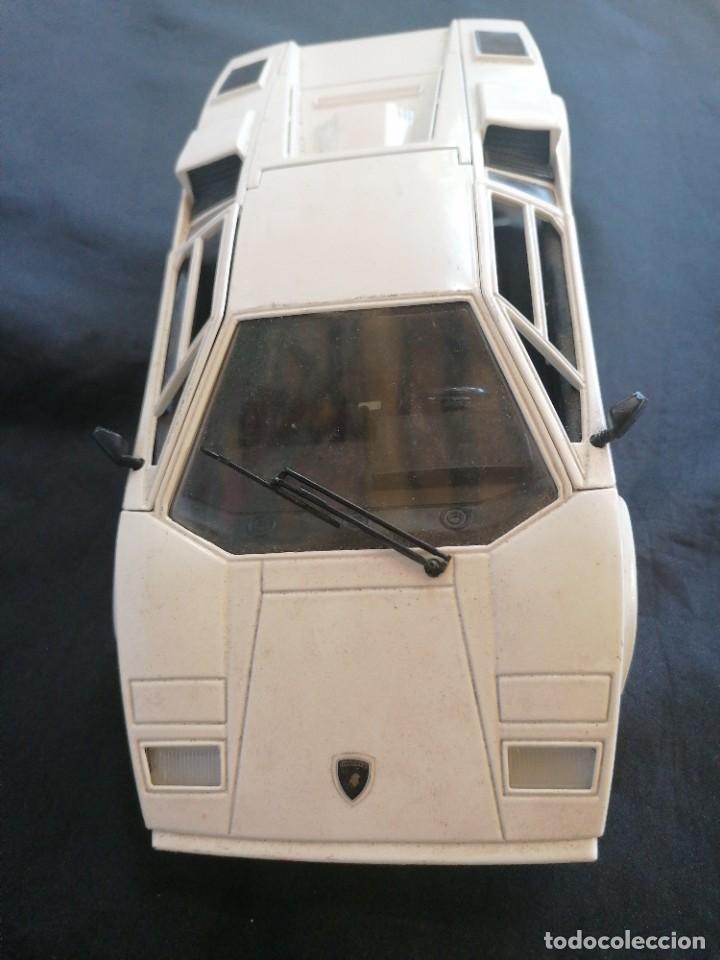 Coches a escala: Coche Lamborghini en metal E:1/18 Polistil - Foto 7 - 213692753