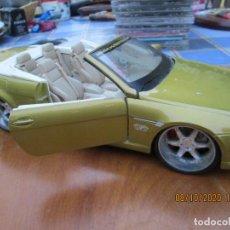 Coches a escala: BMW 645 CI - ESCALA 1/18 - MAISTO - COLOR AMARILLO OCRE.. Lote 214359920
