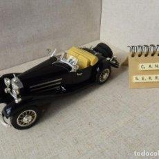 Coches a escala: MERCEDES BENZ 500 K ROADSTER 1936 - BURAGO - 1:18. Lote 214454497