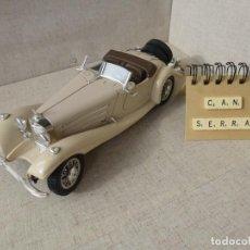 Coches a escala: MERCEDES BENZ 500 K ROADSTER 1939 -BURAGO - 1:18. Lote 214455426