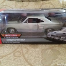 Coches a escala: DODGE CORONET R/T 1969 ESCALA 1/18 AUTO WORLD. Lote 218300876