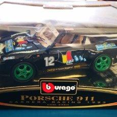 Coches a escala: BURAGO PORSCHE 911 CARRERA RACING A ESTRENAR. Lote 218337082