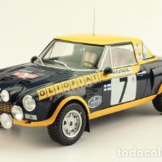 Coches a escala: COCHE DE RALLY FIAT ABARTH 124 SPYDER - 1976 / MARKKU ALÉN (ESCALA 1:18) N71. Lote 294455613