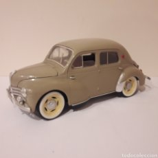 Coches a escala: RENAULT 4 CV. 1/17 SOLIDO. MADE IN FRANCE. Lote 218643283