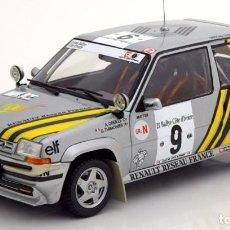 Coches a escala: RENAULT 5 GT TURBO COTE D'IVOIRE 1989 ESCALA 1/18 DE NOREV. Lote 220109693