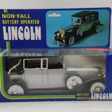 Coches a escala: COCHE LINCOLN NON-FALL BATTERY OPERATED - GRIS - FUNCIONA A PILAS - AÑOS 80 - NUEVO. Lote 220131710
