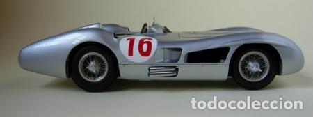 "Coches a escala: CMC MODELS M-059 escala 1/18 MERCEDES-BENZ W 196 R ""STREAMLINER"" #16 Autógrafo real de STIRLING MOSS - Foto 10 - 220251035"