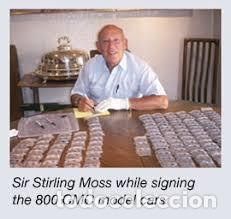 "Coches a escala: CMC MODELS M-059 escala 1/18 MERCEDES-BENZ W 196 R ""STREAMLINER"" #16 Autógrafo real de STIRLING MOSS - Foto 12 - 220251035"