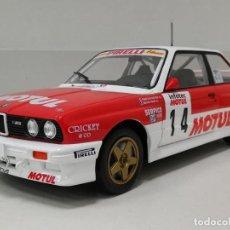 Coches a escala: COCHE DE RALLY BMW M3 - 1989 / F. CHATRIOT (ESCALA 1:18) N76, COMPETICIÓN. Lote 221772266