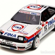 Coches a escala: TOYOTA CELICA GT-FOUR ST165 TOUR DE CORSE 1991 ESCALA 1/18 DE OTTO MOBILE. Lote 221959486
