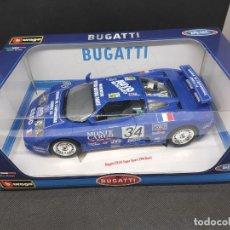 Coches a escala: 1994 BUGATTI EB110 SUPER SPORT BBURAGO 1/18. Lote 222343948