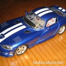 Coches a escala: BURAGO 1:18 DODGE VIPER GTS COUPE MADE IN ITALY. Lote 224202960