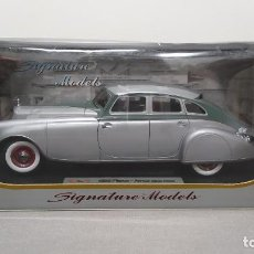 Coches a escala: 1933 PIEROS ARROW SILVER ARROW BY SIGNATURE MODELS 1/18. NUEVO SIN ABRIR. Lote 228114445