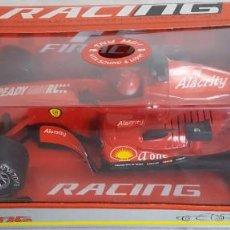 Coches a escala: WENYI F1 RACING ESCALA 1:18 COCHE DE FRICCION Y CON SONIDO Y LUCES. Lote 233077205