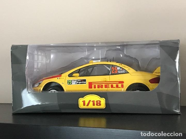 PEUGEOT 307 WRC - RALLY ARGENTINA 2006 - GIANLUIGI GIGI GALLI - RALLY RALLYE ALTAYA IXO ESCALA 1/18 (Juguetes - Coches a Escala 1:18)