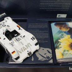 Coches a escala: BMW V12 LMR 1999 JENNY HOLZER KYOSHO 1/18 - CON CAJA Y DOCUMENTACIÓN. Lote 237887900