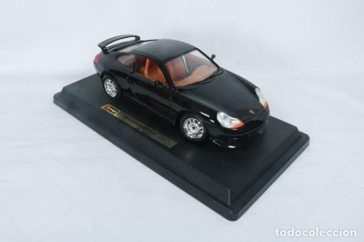 Coches a escala: Porsche GT3 - Miniatura - Marca Burago - En su embalaje original y como nuevo - Coleccionistas - Foto 2 - 240156865