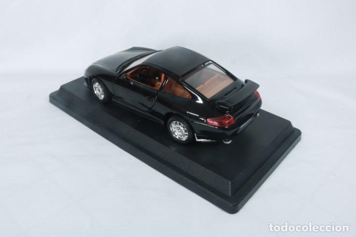 Coches a escala: Porsche GT3 - Miniatura - Marca Burago - En su embalaje original y como nuevo - Coleccionistas - Foto 6 - 240156865