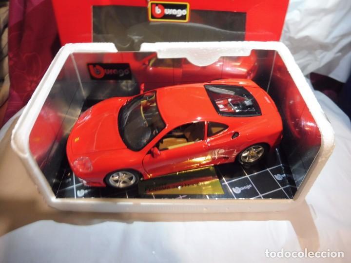 Coches a escala: Burago 1/18 Ferrari 360 Modena (1999) cod. 3358 en caja - Foto 9 - 241694295