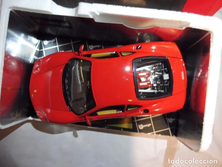 Coches a escala: Burago 1/18 Ferrari 360 Modena (1999) cod. 3358 en caja - Foto 10 - 241694295