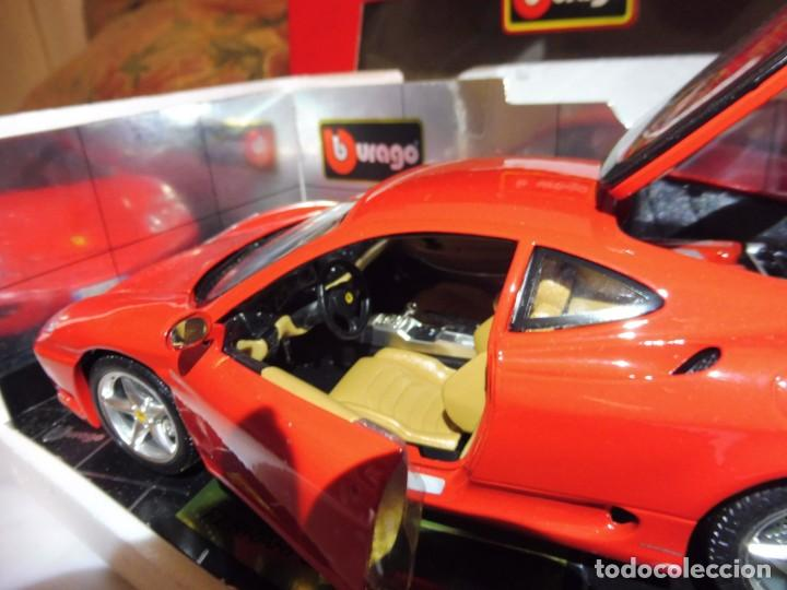 Coches a escala: Burago 1/18 Ferrari 360 Modena (1999) cod. 3358 en caja - Foto 13 - 241694295