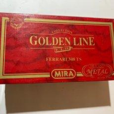 Coches a escala: CAJA VACÍA DE COCHES FERRARI 348 TS ESCALA 1/18 MIRA GOLDEN LINE. Lote 244019840