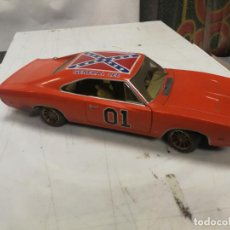 Coches a escala: 1:18 1969 DODGE CHARGER R/T GENERAL LEE DUKES OF HAZZARD SHERIFF CHIFLADO ERTL. Lote 245985165