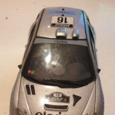 Coches a escala: PEUGEOT 206 WRC RALLY SOLIDO ESCALA 1/18. Lote 246345365