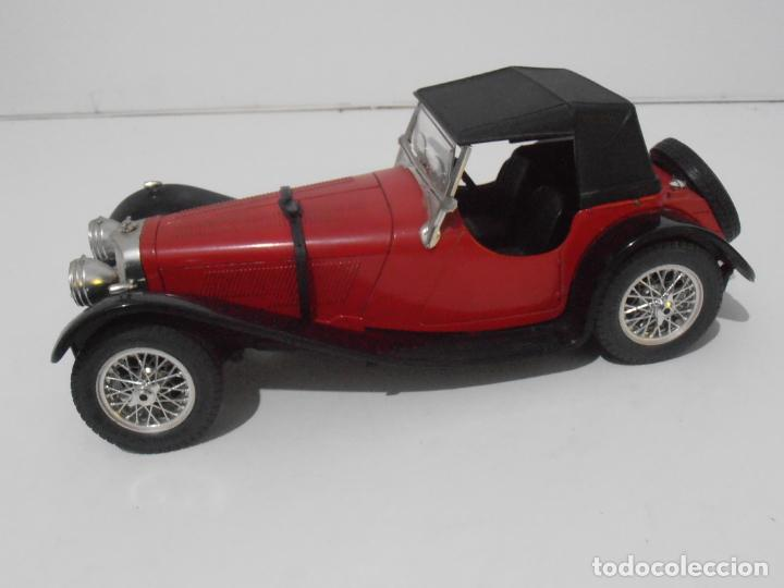 Coches a escala: COCHE A ESCALA 1/18, JAGUAR ROJO SS 100, 1937 - Foto 3 - 247965525