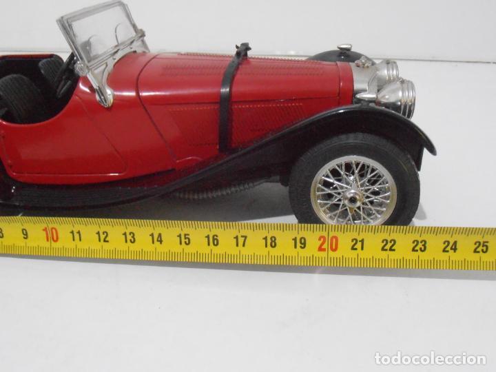 Coches a escala: COCHE A ESCALA 1/18, JAGUAR ROJO SS 100, 1937 - Foto 6 - 247965525